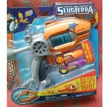 Slugterra Pistola Lanzadora Babosas Eli