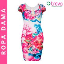 Vestido Multicolor Floreado Primavera