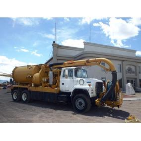 Camion Vactor Limpia Drenajes Para Desazolve Ford L800