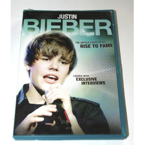 Justin Bieber - The Untold Story Of His Rise To Fame Dvd +