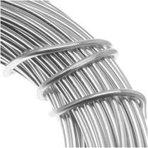 Alambre Artesano Aluminio Color Plateado Calibre 18 (11.8m)