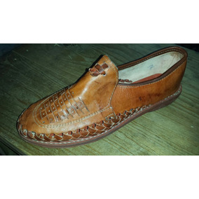 Zapato Artesanal Suela De Baqueta, Cosido, Tejido A Mano.