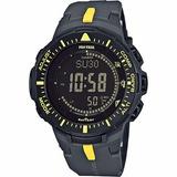 Reloj Casio Prg-300 1a9 Triple Sensor Sumergible 100mts