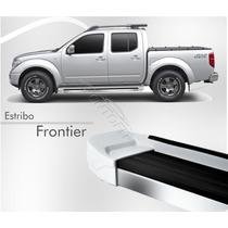 Estribo Nissan Frontier 2012 2013 2014 2015 Prata Breeze