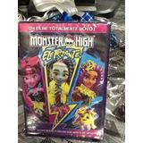 Dvd Monster High Eletrizante