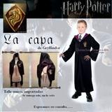 Disfraz Capa Tunica Harry Potter - Importadas