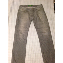 Pantalon De Mezclilla Thats It Color Gris Talla 32 Vestir