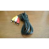 Cable Audio Y Video Rca Para Cámaras Panasonic Lumix