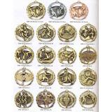 Medallas Para Artes Marciales Y Todo Tipo De Deportes