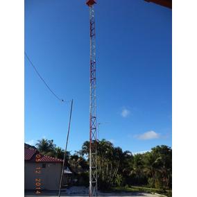 Torre Estaida Parafusada Para Internet ! Pronta Entrega!