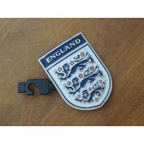 Importada Fina Hebilla Escudo Selección Inglaterra Bandera