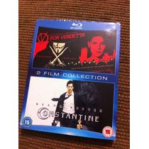 V For Vendetta - Constantine Keanu Reeves Natalie Portman