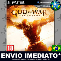 God Of War Ascension - Ps3 - Código Psn - Português Dublado