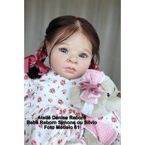 Boneca Bebê Reborn Simone Ou Silvio Igual Um Bebe De Verdade