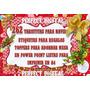 262 Tarjetitas Navideñas Regalos Diseños Adornos Navidad 2x1