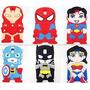 Forro Superheroes S3 S4 Mujermaravilla, Spiderman Y Ironman