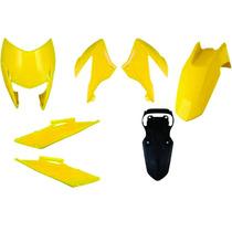 Carenagem Bros 150 Amarelo 2009 Kit Completo