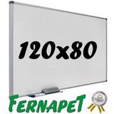 Pizarra Acrílica Magnética Blanca 120x80 Cm.70484 / Fernapet