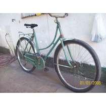 Antigua Bicicleta De Dama