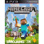 Minecraft Ps3 Playstation 3 Edition Ps3