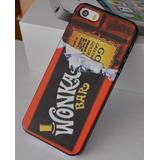 Capa Case Iphone 5 5s Se Willy Wonka Fabrica De Chocolate