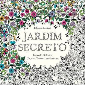 Jardim Secreto Livro Johanna Basford Frete 8 Reais