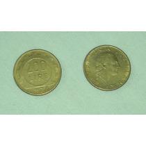 M43 Lote X 2 Monedas Italiana De 200 Liras Año 1978 Bronce