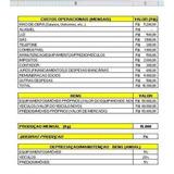 Planilha Para Padaria Em Excel, Para Calcular Custo Produção