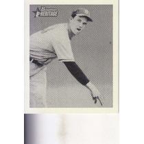 2001 Bowman Her Reprint Johnny Sain P Braves