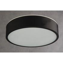 Plafon Pcb 3041 Vidro E Alumínio Preto Pantoja & Carmona