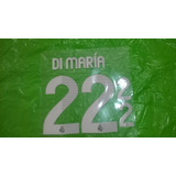 Estampado Original Di Maria Camiseta Real Madrid 2012-2013