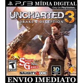 Uncharted 3 Ps3 Psn Cod Digital