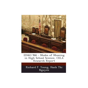 Libro Ed463 966 - Modes Of Meaning In High School, Richard F