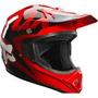 Casco Fox Vf-1 Rojo 2015 Moto !! Talla S