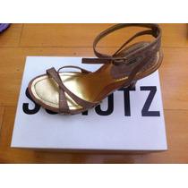 Sandália Schutz Puro Glamour