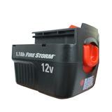 Bateria Furadeira/parafusadeira Hp120 12v Black & Decker