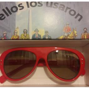 48397ee250 Lentes De Sol Vidrio Rojo Color Rojo - Anteojos de Sol en Mercado ...