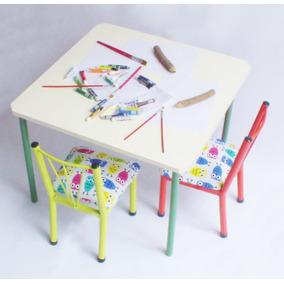 juego silla infantil x y mesa para