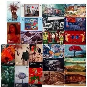 Cartão Telefônico - Série Museu De Arte De Sc - 23 Cartões -
