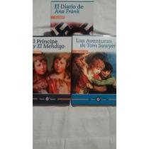 El Diario De Ana Frank / Las Aventuras De Tom Sawyer 3 Libro