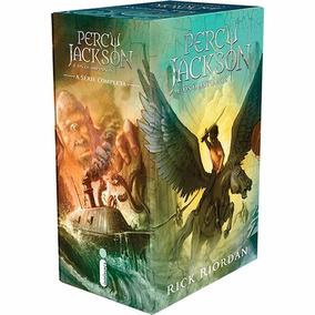 Box Percy Jackson E Os Olimpianos Nova Capa 5 Livros