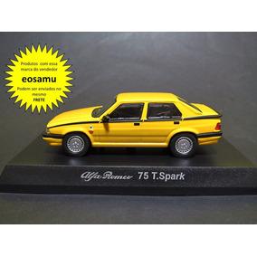 Alfa Romeo 75 Twin Spark Coleção 4 Kyosho 1/64