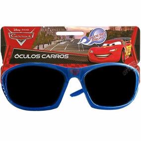 Óculos De Sol Infantil Carros Relâmpago Mcqueen Da Disney