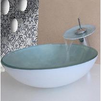 Pia De Banheiro Colorida Com Torneira, Valvula Clic Completa