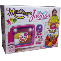 Microondas Juliana Cocina Delantal Luz Y Sonido Recetario