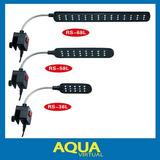 Iluminador De Led Para Acuarios De 30 A 50 Cm Con Clip Rs 58