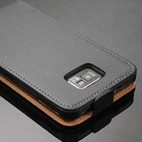 Capa Case Flip Couro Luxo Para Samsung Galaxy S2 I9100