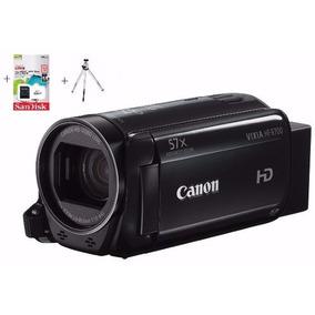 Filmadora Canon Vixia Hf R800-full Hd E Mic+64gb+tripe+bolsa
