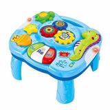 Mesita Musical Didactica Interactiva Luces Sonido Zippy Toys