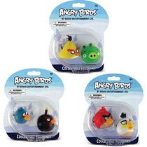 Boneco E Personagem Angry Birds Personagens 18,5cm Bl.c/02